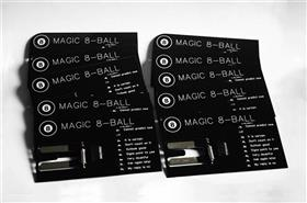 Magic 8 Ball Business Card PCB