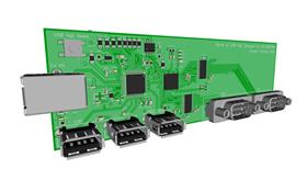 Keil MCB1700 Serial/USB Hub
