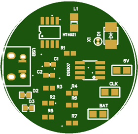 Smart Watch PCB