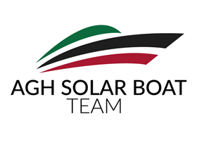 Baśka - solar powered boat by AGH Solar Boat Team