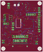 Universal motor driver and control board