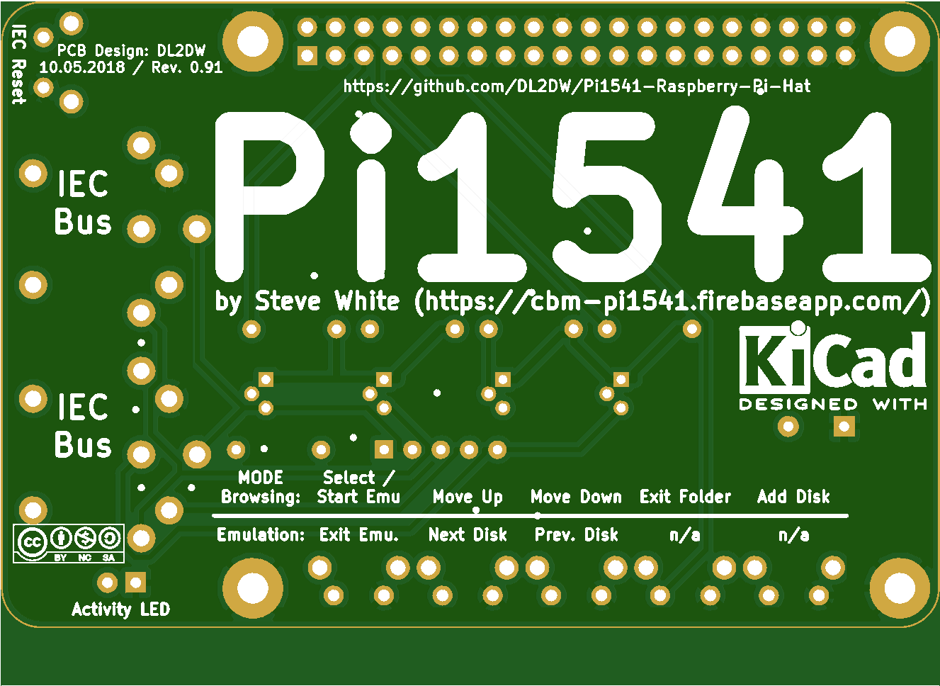 Pi1541 Ad-on Board
