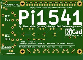 Pi1541 Ad-on Board