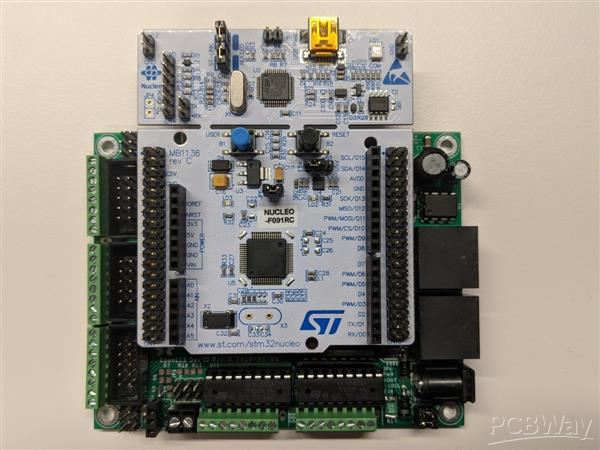 OpenLCB / LCC IO Board for Nucleo-64 - Share Project - PCBWay