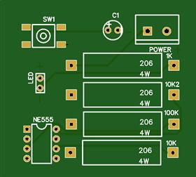 NE555 Latching Switch - Push on Push Off