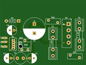 C64-PSU 902503-06 Austauschplatine 0.1.2