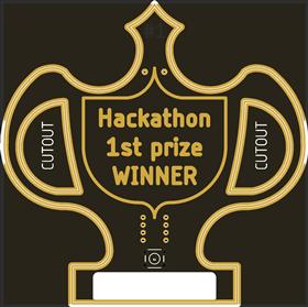 Hackathon trophy