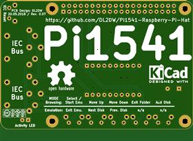 Pi1541 Ad-on Board (New Release 05/20/2018)