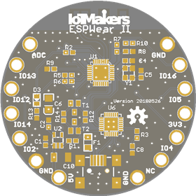 ESPWear II - ESP8285 for Wearables