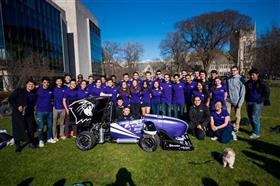 Northwestern Formula Racing, Electronics