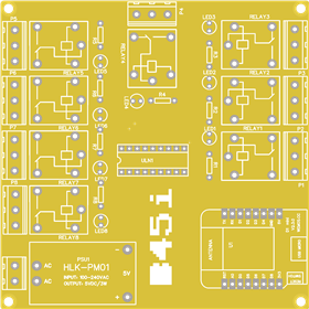 ESP8266 IoT Relay Board for Home Automation
