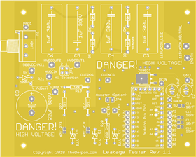 Leakage Tester Rev 1.1 by The Defpom