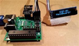 ESP-01 NanoBoard (ESP8266)