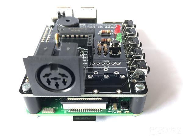 Pi1541 IO Adapter, Rev.4