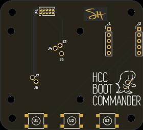 HCC Module Bootloader Jig