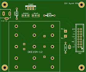 DIY Modular Synthesizer Power Supply