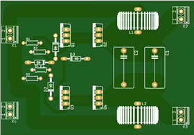 Induction Heater Circuit Board