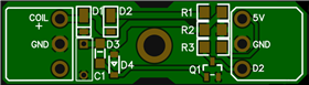 Simplified RPM induction sensor