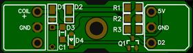 Simplified RPM induction sensor