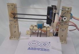 arduino based cnc plotter machine