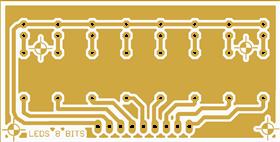 8 LEDS PANEL INDICATOR