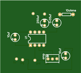 DIY amplifier circuit