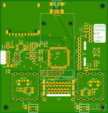 Universal motor driver and control board version 2