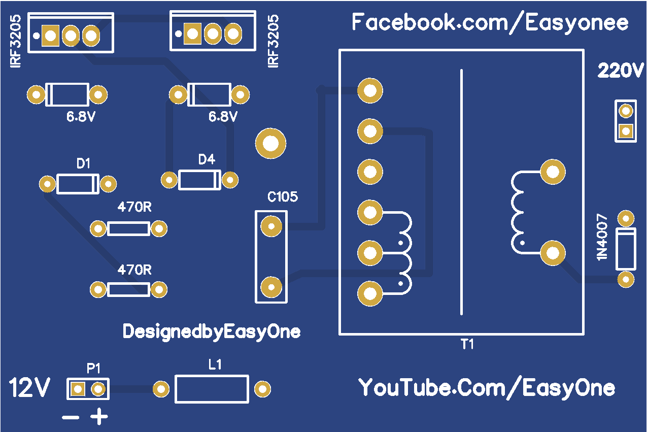 Inverter 12v To 220v Share Project Pcbway Atx Power Supply Schematic Descriptioninverter From The Is On This Link Http