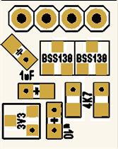 Pressure sensor BMP180/BMP280/BME280 with level converter