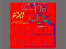 FX1 MIDI Controller 16 Pads USB