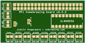 Raspberry Pi Homebrew board v0.2.2