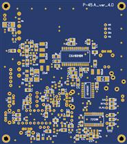Сканирующий приемник Р-45 - Плата аналог 4.0 - (R-45, R45, Р45)