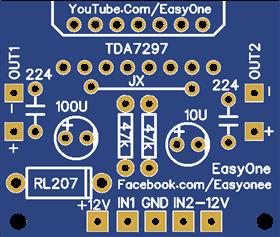 TDA7297 Audio Amplifier 30Watt
