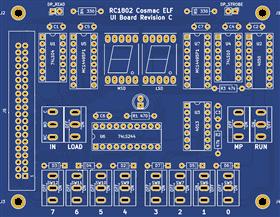 RC1802 Cosmac ELF (UI module revision C)