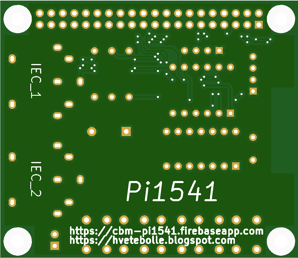 Commodore 64 Pi1541 - Share Project - PCBWay