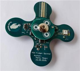 Persistence of Vision Fidget Spinner