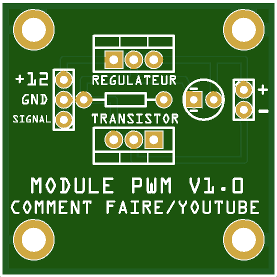 MODULE PWM COMMENTFAIRE V1.0