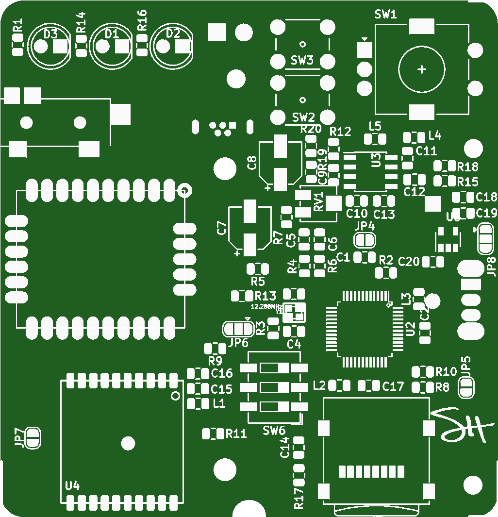 Fake Walkie Talkie Project Gps Audio Player Share Pcbway Circuit Diagram Of This Is The Pcb For Talkieplease Check Out Video More Informati