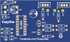 inverter 12V To 220V  using TL494