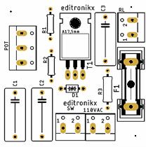 Dimmer analogico editronikx