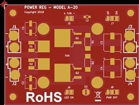 Regulador de Voltagem 20A para Aeromodelos de grande escala