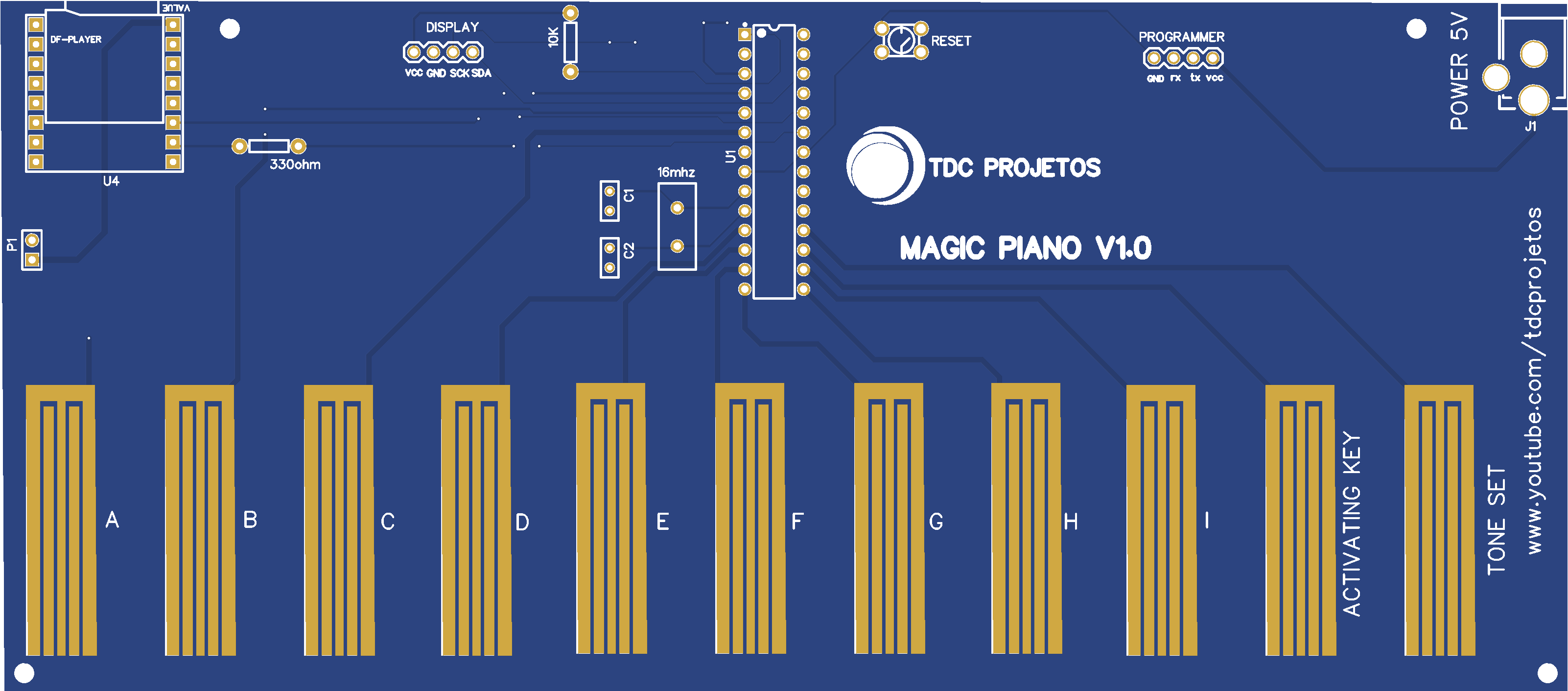 TDC PROJETOS Magic Piano