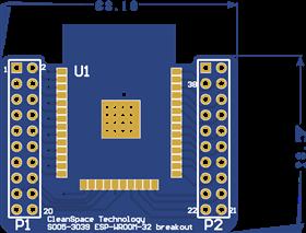 S005-3039 ESP-WROOM-32 Breakout PCB
