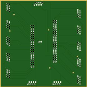 Dual Raspberry Pi GPIO Header(20x2) to RJ- 45 Hub