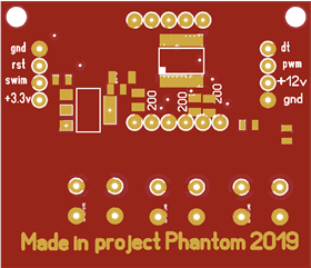 Made in project Phantom 2019