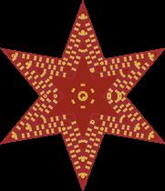 Xmass Star Flashing Light