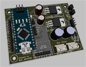 Controller for DAC (Arduino Nano)