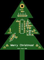 Low-Power MSP430 Tree Ornament