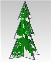 Christmas tree 2019 NeoPixels WS2812B Attiny13