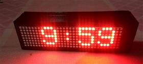 Dot Matrix Clock Using Arduno And DS1307
